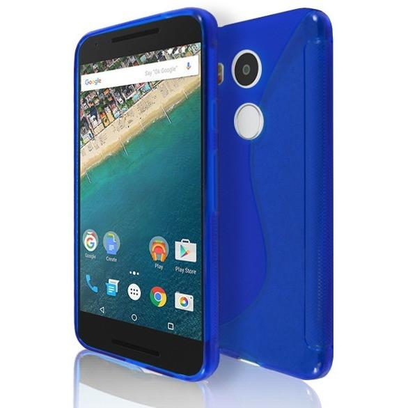 LG NEXUS 5X - Blue S Line Gel Silicone Case