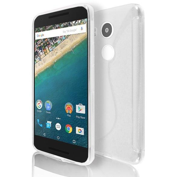 LG NEXUS 5X - White S Line Gel Silicone Case