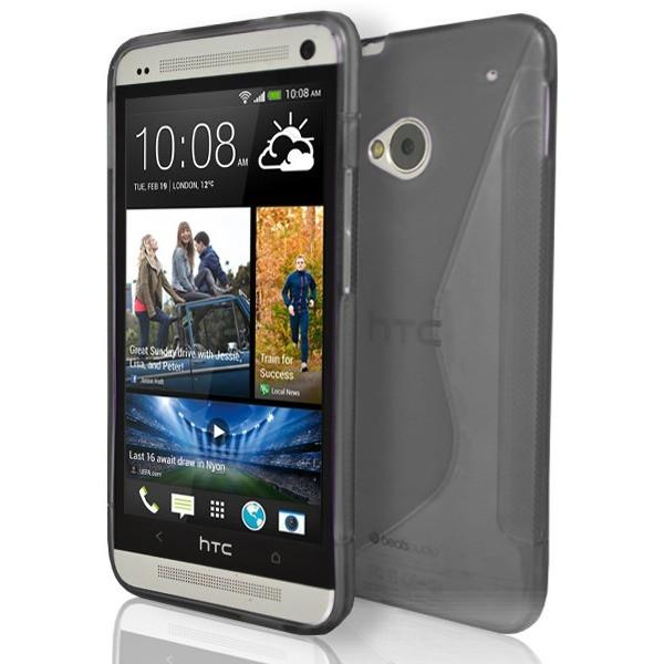 HTC One M7 - Smoked S Line Gel Silicone Case