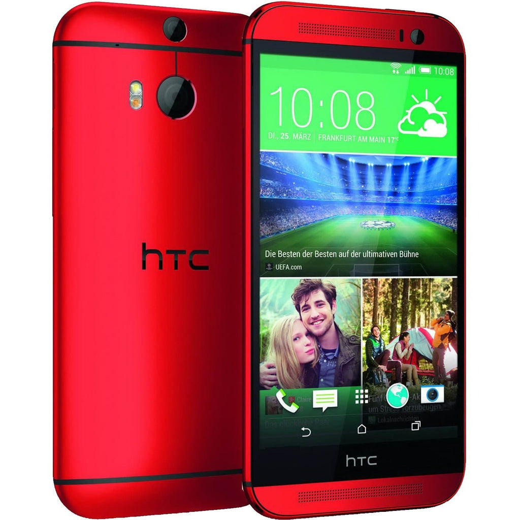 HTC One M8 (16GB) - Red - Factory Unlocked