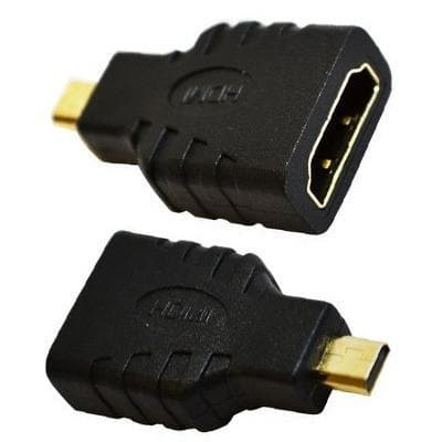 Micro Cables - Micro HDMI To HDMI Cable Converter Adapter Connect To TV LCD HDTV