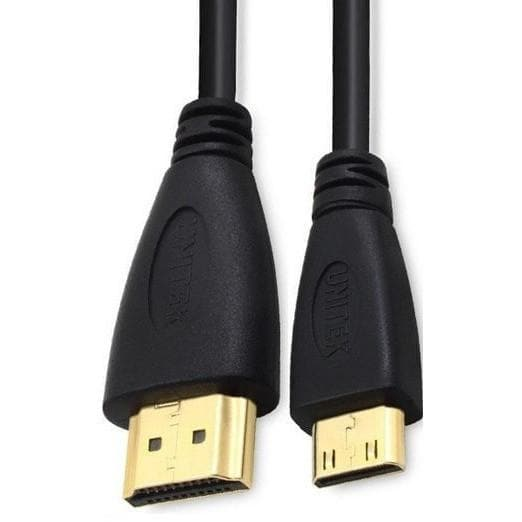 1m Mini HDMI To HDMI V1.3 HD Digital Camcorder Cable - Quick Mobile Fix