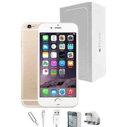 Mobile Phones - Apple iPhone 6S Plus (128GB) - Gold - Unlocked - Grade A Full Bundle