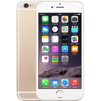 Mobile Phones - Apple IPhone 6 (64GB) - Gold - Unlocked