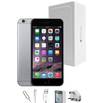 Mobile Phones - Apple iPhone 6S Plus (64GB) - Space Grey - Unlocked - Grade A Full Bundle