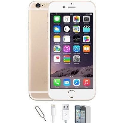 Mobile Phones - Apple IPhone 6 - Champagne Gold (128GB) Factory Unlocked - Grade A