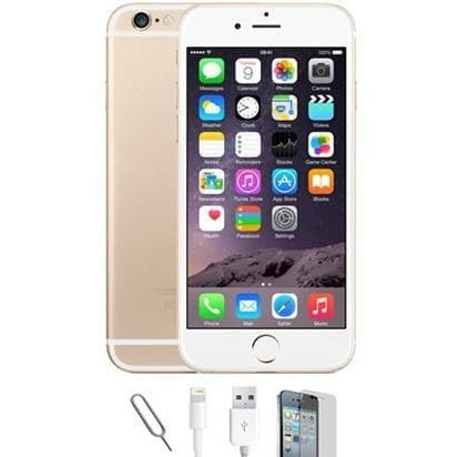 Mobile Phones - Apple iPhone 6S - Champagne Gold (128GB) Factory Unlocked - Grade A
