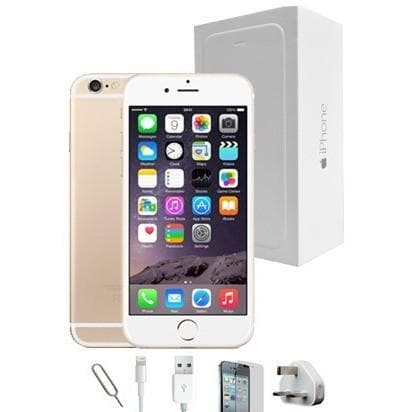 Mobile Phones - Apple IPhone 6 Plus (128GB) - Gold - Unlocked - Grade A Full Bundle