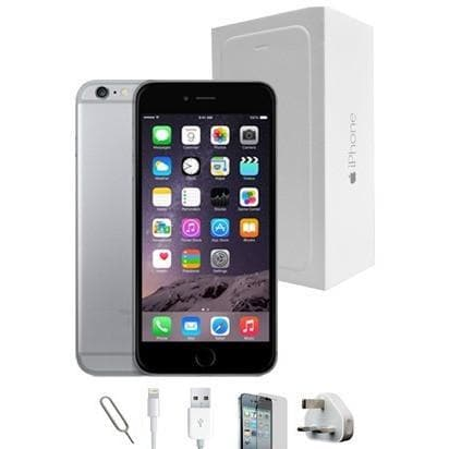 Mobile Phones - Apple IPhone 6 Plus (128GB) - Space Grey - Unlocked - Grade A Full Bundle