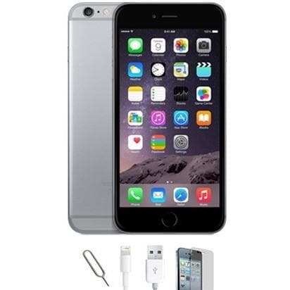 Mobile Phones - Apple IPhone 6 - Space Grey (64GB) Factory Unlocked - Grade A