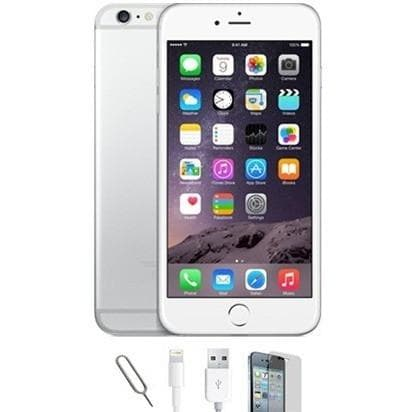 Mobile Phones - Apple IPhone 6 - White / Silver (16gb) Factory Unlocked - Grade A