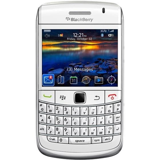 Mobile Phones - Blackberry Bold 9700 - White - Unlocked