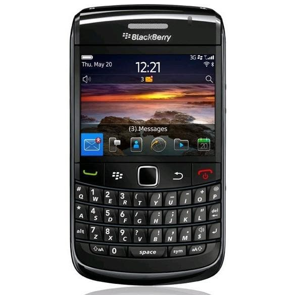 Mobile Phones - Blackberry Bold 9780 - Black - Unlocked