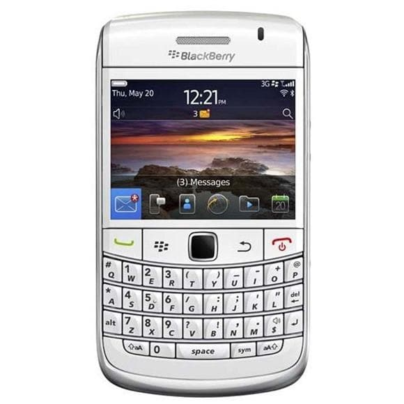 Mobile Phones - Blackberry Bold 9780 - White - Unlocked