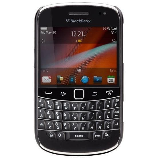 Mobile Phones - Blackberry Bold Touch 9900 - Black - Unlocked