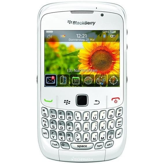 Mobile Phones - Blackberry Curve 8520 - White - Unlocked