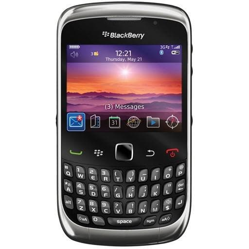 BlackBerry Curve 9300 - Black - Unlocked