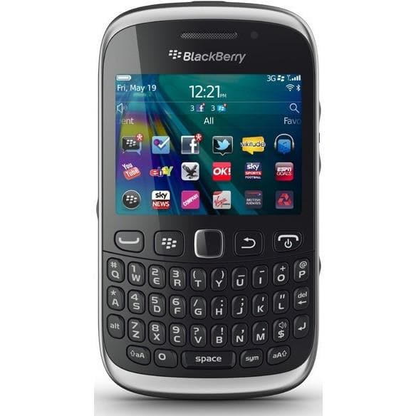 Mobile Phones - Blackberry Curve 9320 - Black - Unlocked