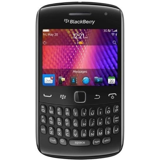 Mobile Phones - Blackberry Curve 9360 - Black - Unlocked
