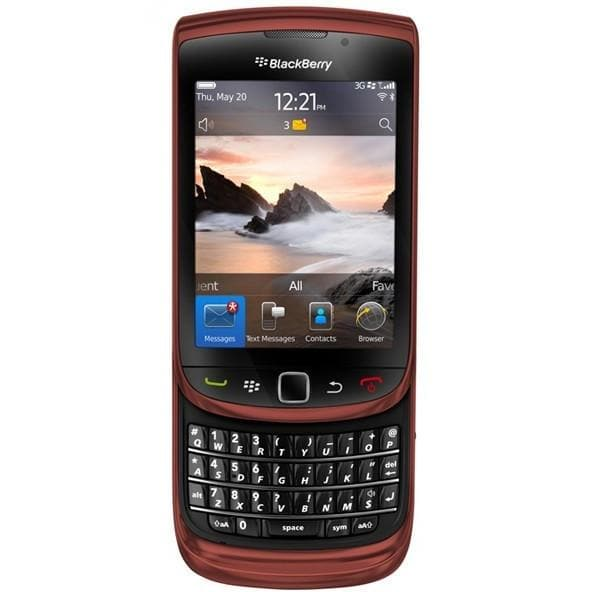 Mobile Phones - Blackberry Torch 9800 (4GB) - Red - Unlocked