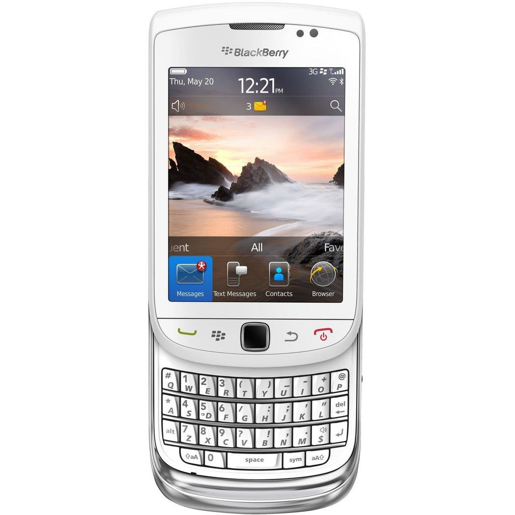 Blackberry Torch 9800 - White - Factory Unlocked