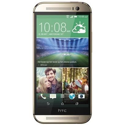 Mobile Phones - HTC One M8 (16GB) - Amber Gold - Unlocked