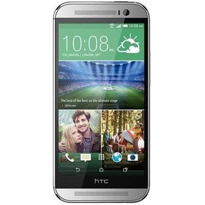 Mobile Phones - HTC One M8 (16GB) - Glacial Silver - Unlocked