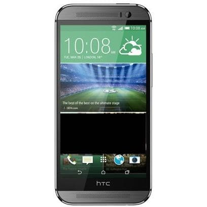 Mobile Phones - HTC One M8 (16GB) - Gun Metal Grey - Unlocked