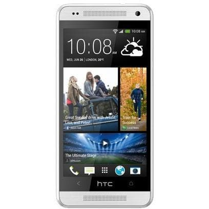 Mobile Phones - HTC One Mini (16GB) - White / Silver - Unlocked