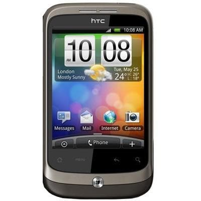 Mobile Phones - HTC Wildfire - Brown - Unlocked