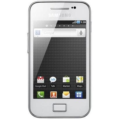 Mobile Phones - Samsung Galaxy Ace - Ceramic White - Unlocked