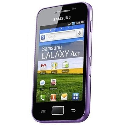 Mobile Phones - Samsung Galaxy Ace - Purple - Unlocked