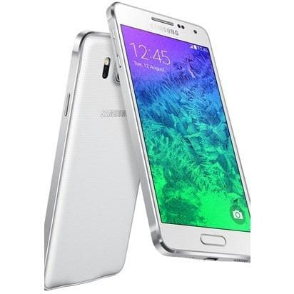Mobile Phones - Samsung Galaxy Alpha (32GB) - Dazzling White - Unlocked