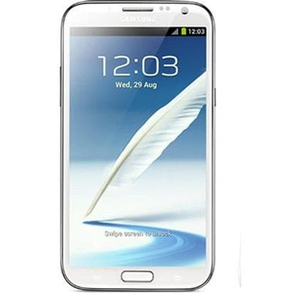 Mobile Phones - Samsung Galaxy Note 2 (16GB) - Marble White - Unlocked