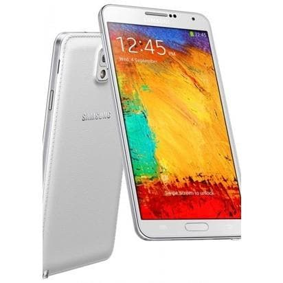 Mobile Phones - Samsung Galaxy Note 3 (16 GB) - White - Unlocked