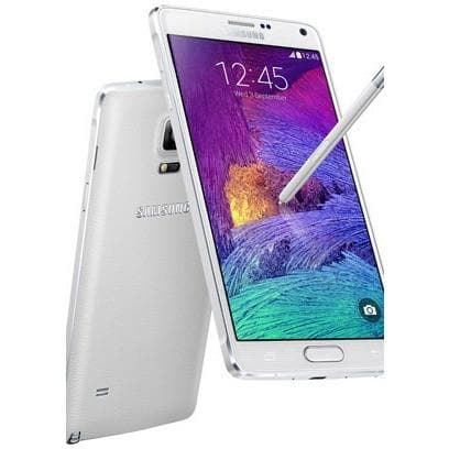 Mobile Phones - Samsung Galaxy Note 4 (32 GB) - White - Unlocked