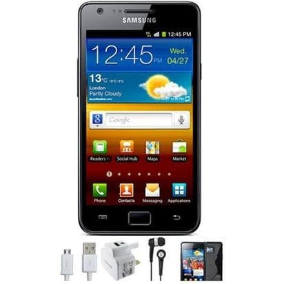Mobile Phones - Samsung Galaxy S2 (16GB) - Black - Unlocked