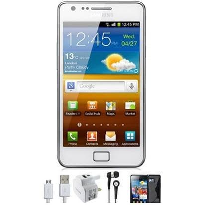 Mobile Phones - Samsung Galaxy S2 (16GB) - White - Unlocked
