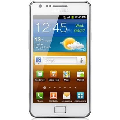 Mobile Phones - Samsung Galaxy S2 - White - Unlocked