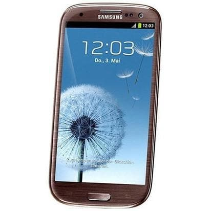 Mobile Phones - Samsung Galaxy S3 (16 GB) - Amber Brown - Unlocked