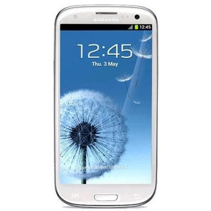 Mobile Phones - Samsung Galaxy S3 (16 GB) - Marble White - Unlocked