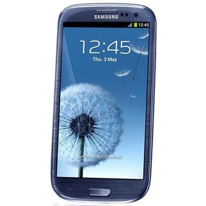 Mobile Phones - Samsung Galaxy S3 (16 GB) - Pebble Blue - Unlocked