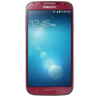 Mobile Phones - Samsung Galaxy S4 (16 GB) - Red - Unlocked