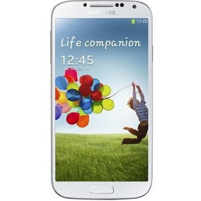 Mobile Phones - Samsung Galaxy S4 (16 GB) - White Frost - Unlocked