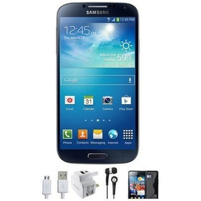 Mobile Phones - Samsung Galaxy S4 (16GB) - Black Mist - Unlocked