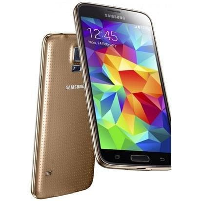 Samsung Galaxy S5 Mini - Gold - (16GB) - Unlocked - Good Condition
