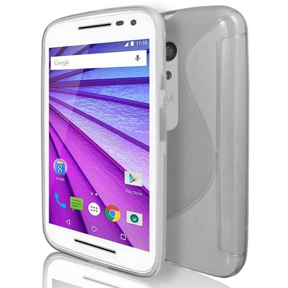 Moto G3 - Clear S Line Gel Silicone Case