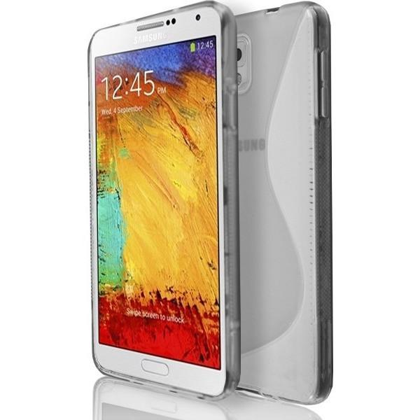 Samsung Galaxy Note 3 N9000 - Smoked S Line Gel Silicone Rubber Case Cover