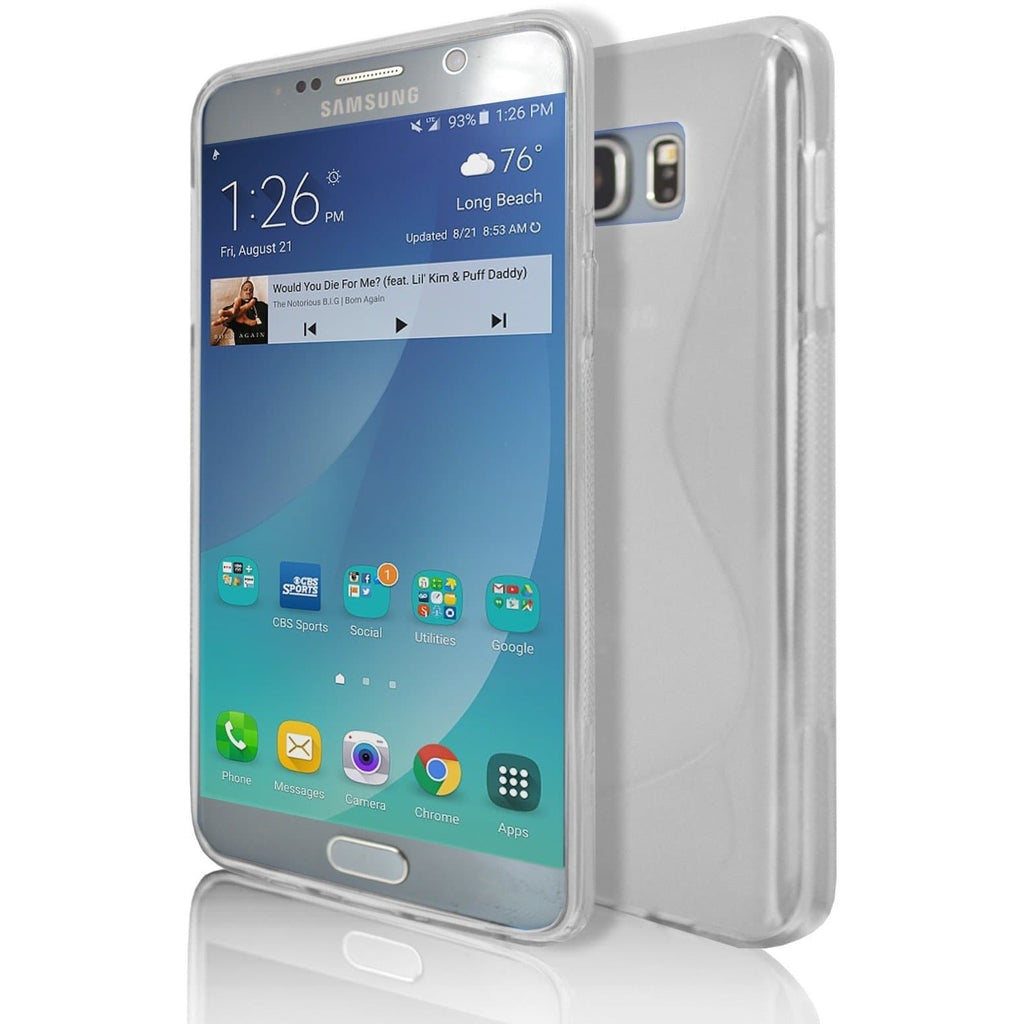 Samsung Galaxy Note 5 - Clear S Line Case Cover