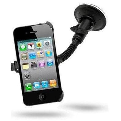 Phone Holders - Car Mount Windscreen Holder Cradle Kit For IPhone 4 & 4G